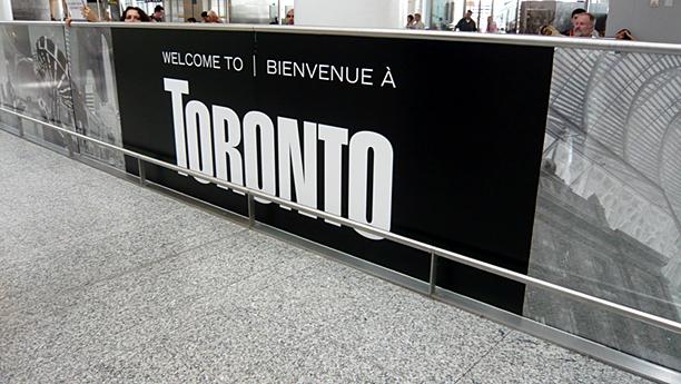 Welcome to Toronto